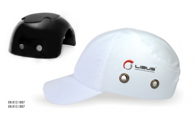 Gorra con casquete plástico. Color Blanco