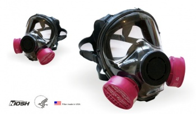 Respirador cara completa Mod 9550 reutilizable