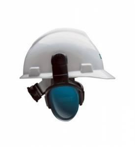 Protector Auditivo Left/Right, Alto, Azul, Para Casco (28db)