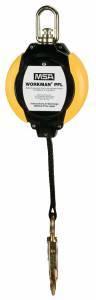 Autoretractil Dyna-Lock 20 Pies Cable De Acero