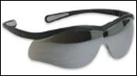 Anteojo Lightning Eyewear . Marco negro - Lente incolora