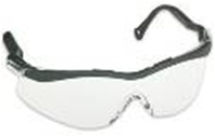 Anteojo Lightning Eyewear . Marco negro - Lente ambar