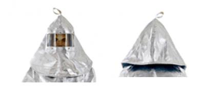 Capuchón Aluminizado con visor